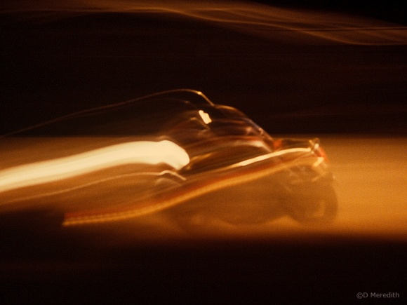 Night racing.