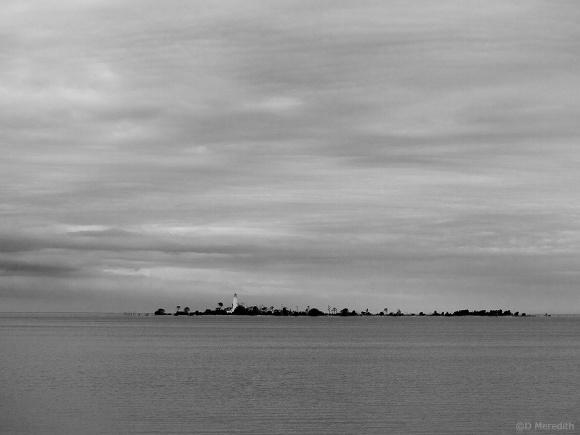 Chantry Island Lighthouse, Lake Huron.