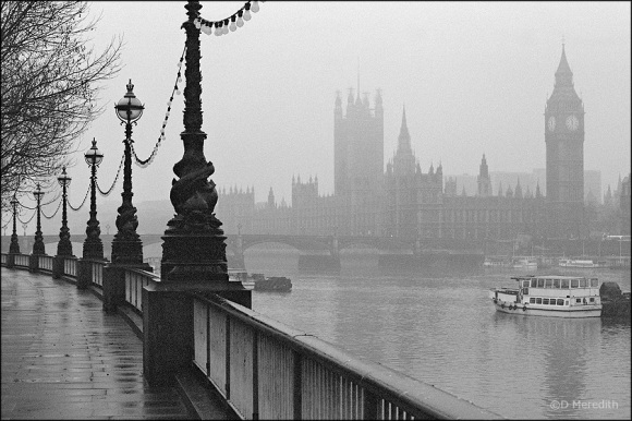 Early morning on the South Bank.