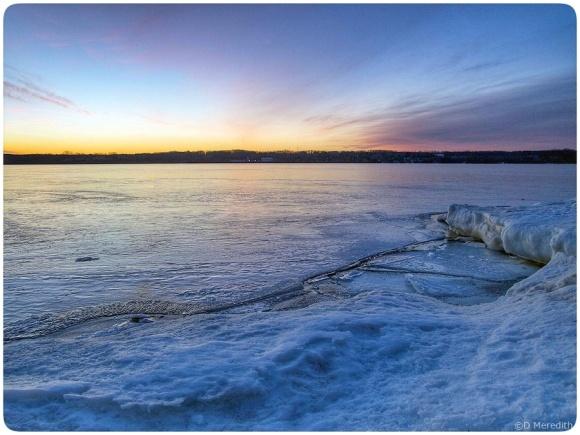 Colpoy's Bay at dawn.