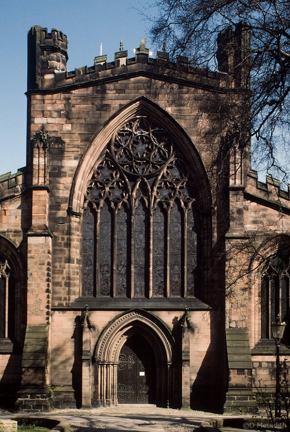 St Mary's Church front.