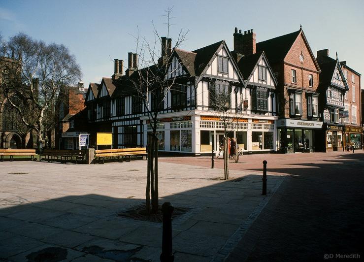 Town Square, Nantwich, Cheshire.