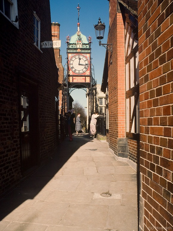 The Eastgate Clock on Eastgate.