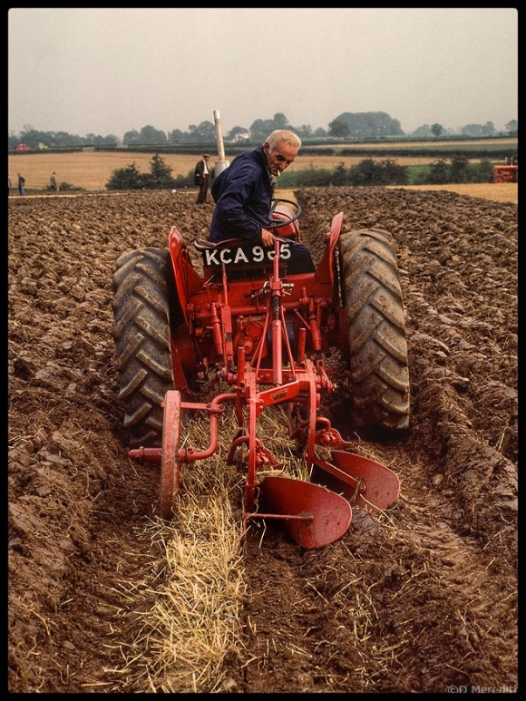 Nostalgia at the ploughing match.