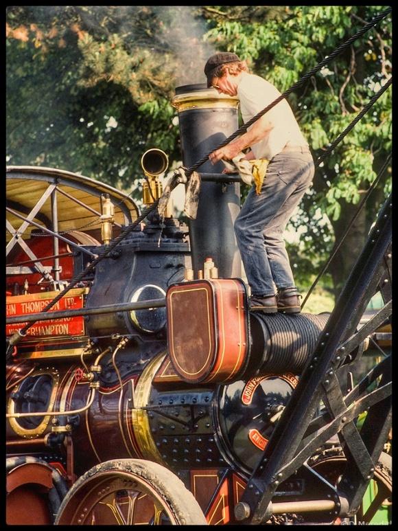 Nostalgia at the steam rally.