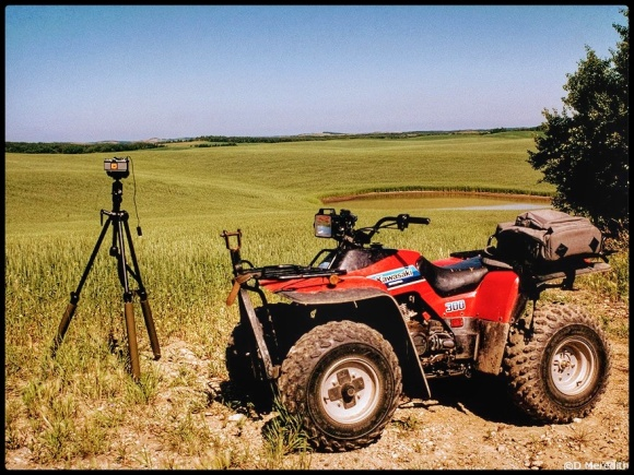 Photographers wheels.
