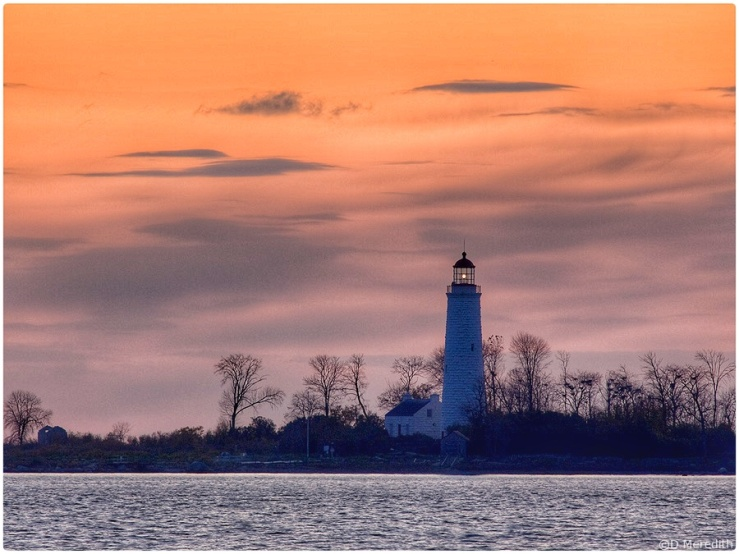 Chantry Island Lightstation Tower.