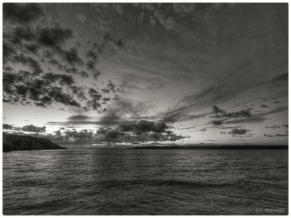 Monochrome sunrise.