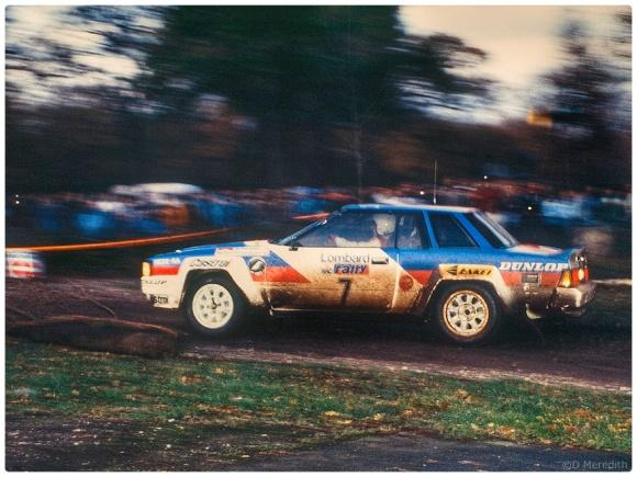 Rally car #7.