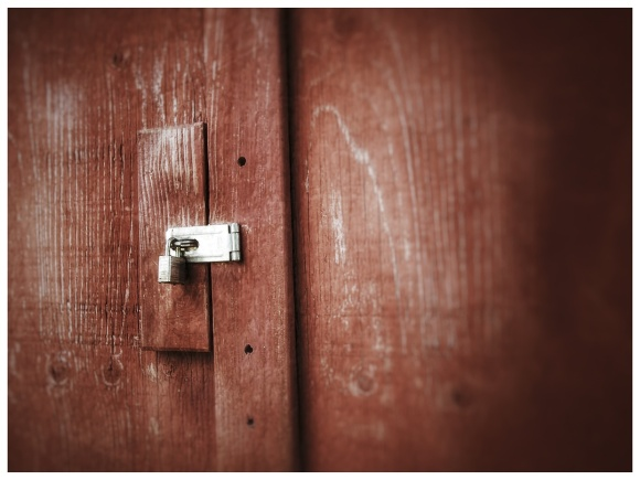 Tuesday Photo Challenge - Lock.