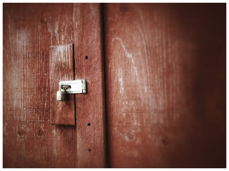 Tuesday Photo Challenge - Lock.