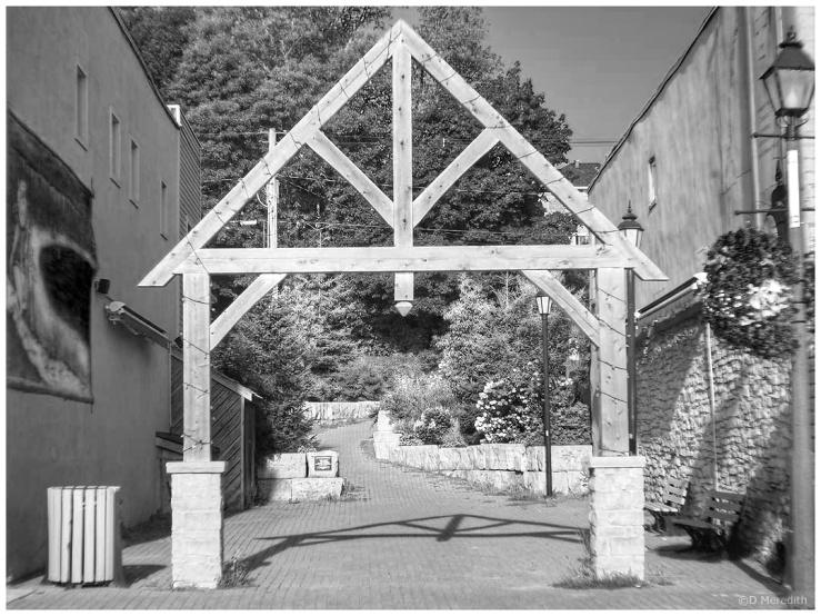 Wood gateway?