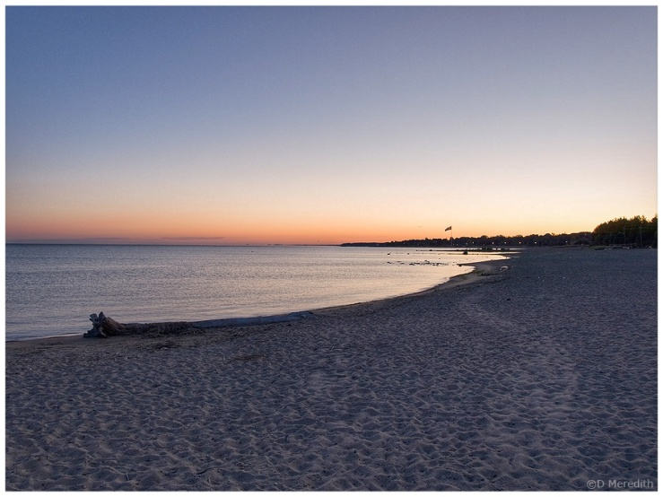 Throwback Thursday, Lake Huron shoreline at dawn.