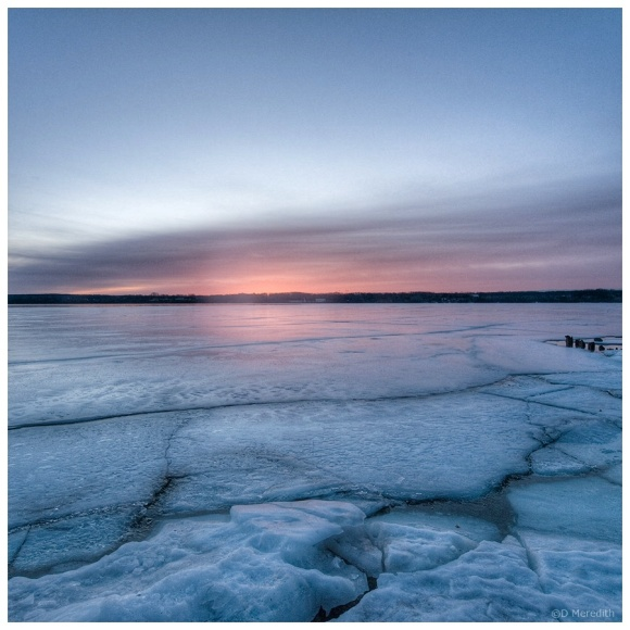 October Squares: Lines in the Ice