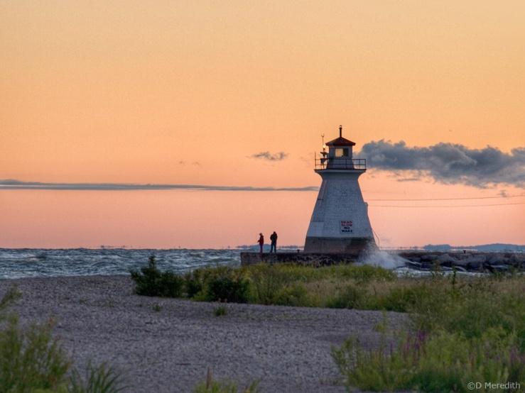 Throwback Thursday, Lake Huron shoreline at dawn.
