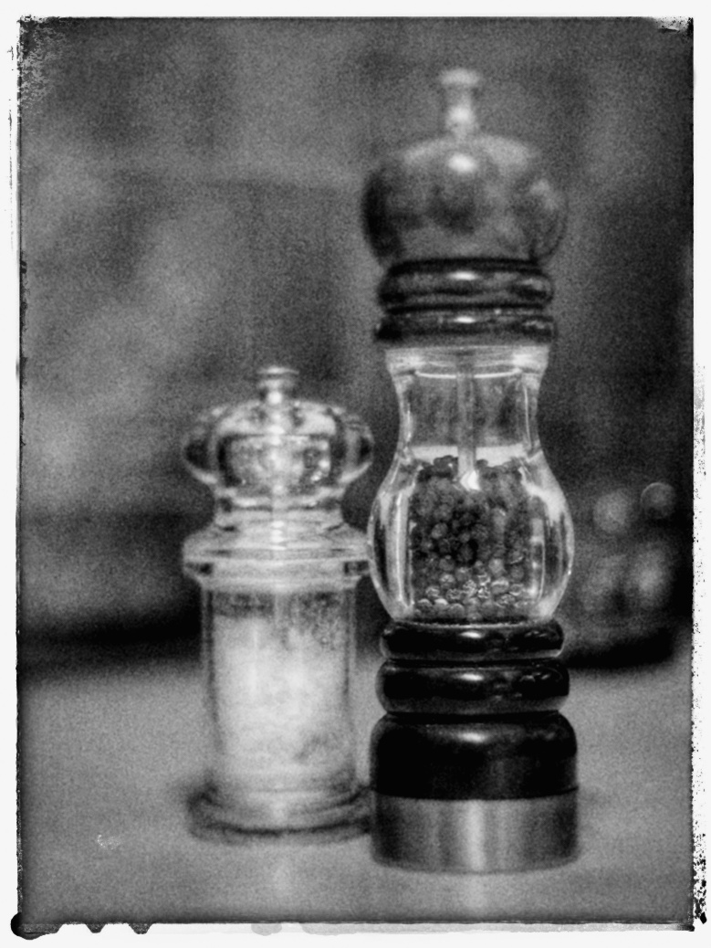 Cee's Black and White Photo Challenge: Things Found in a Kitchen