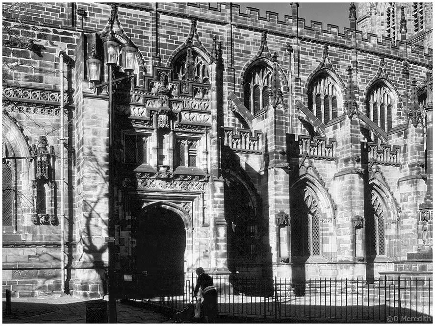 Cee's Black and White Photo Challenge: Bricks or Stones