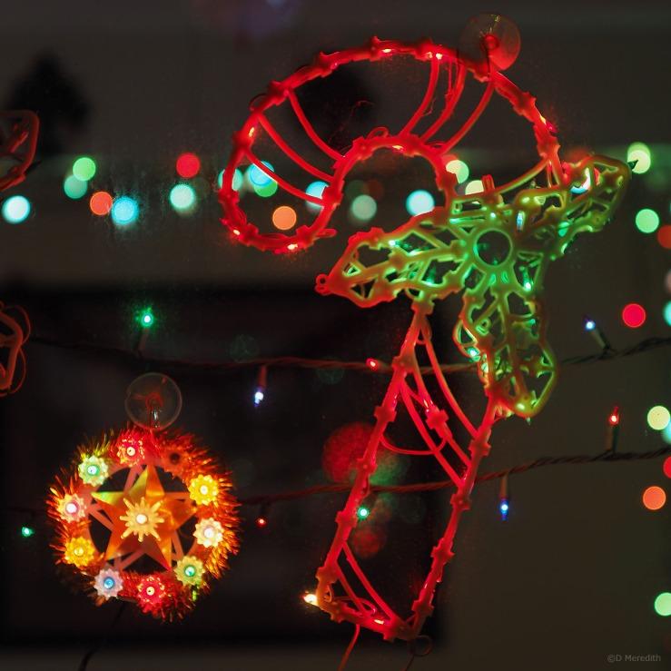 January Squares: Christmas Lights
