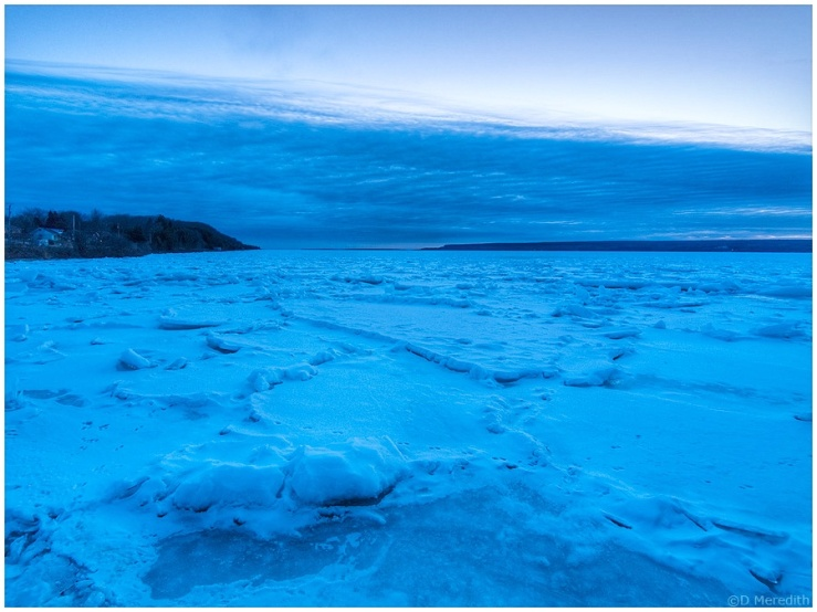 Six Word Saturday: Ice and Snow to the Horizon