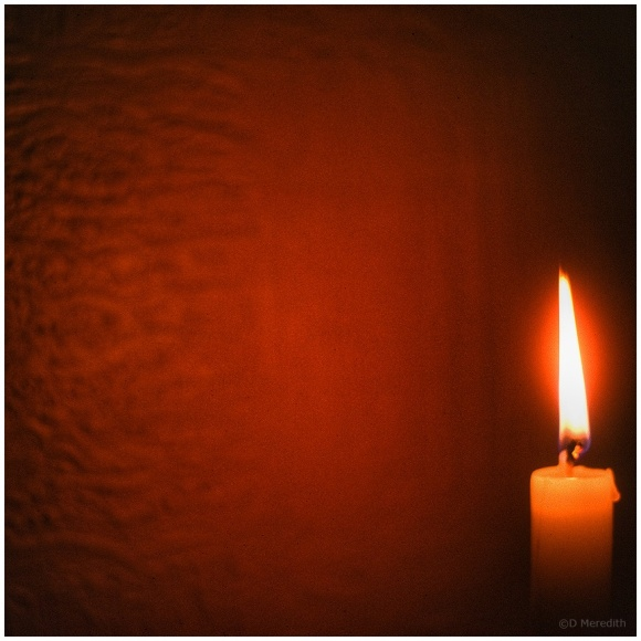 January Squares: Candlelight