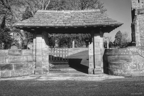 Cee's Black and White Photo Challenge: Fences and Gates