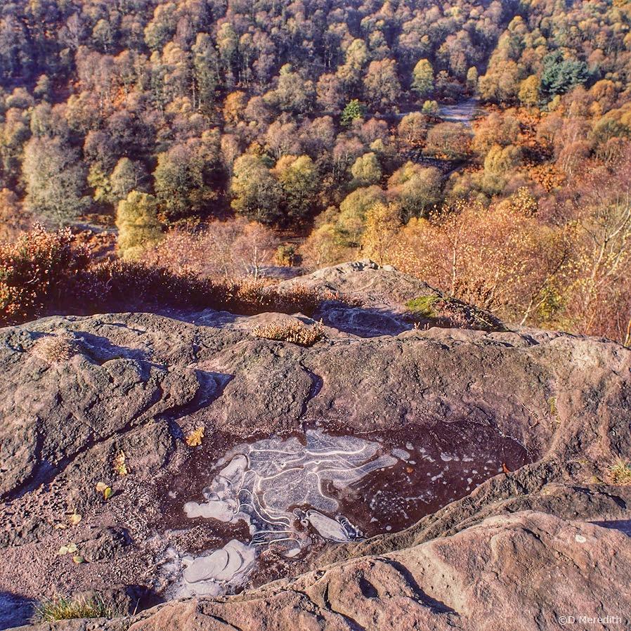 April Squares: On Top of the Ridge