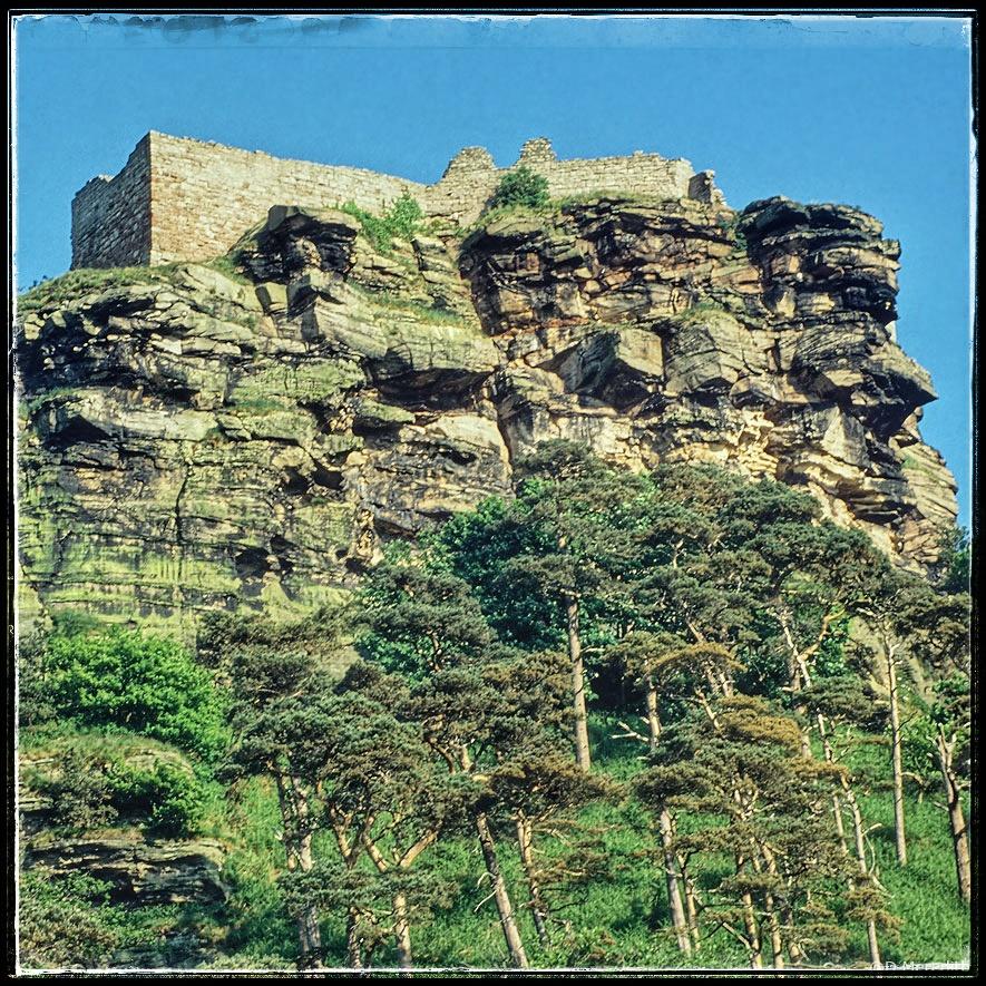 April Squares: On Top of the Sandstone Crag