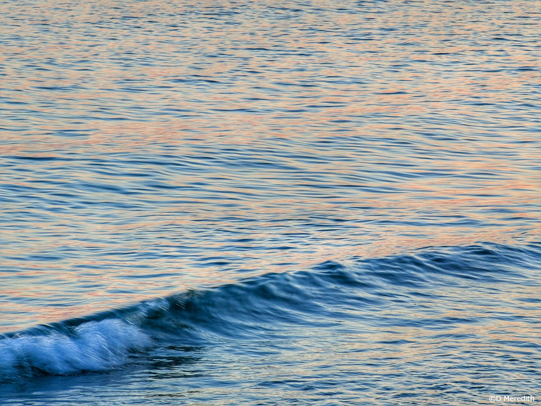 Water Water Everywhere #28: A Wave at Dawn