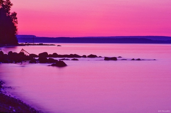 Throwback Thursday: Georgian Bay at dusk
