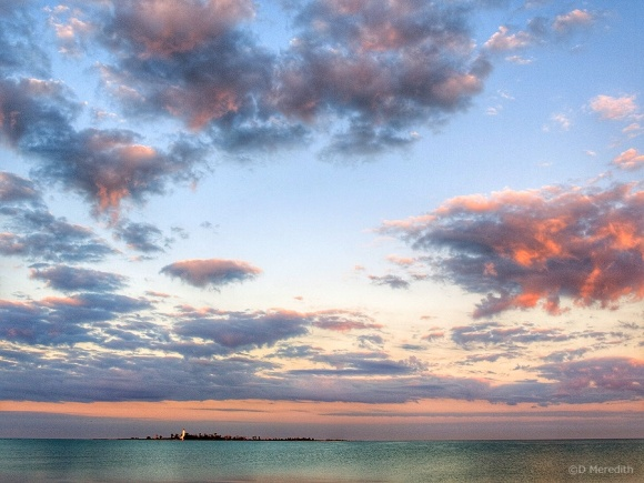 Throwback Thursday: Clouds over Lake Huron at sunrise