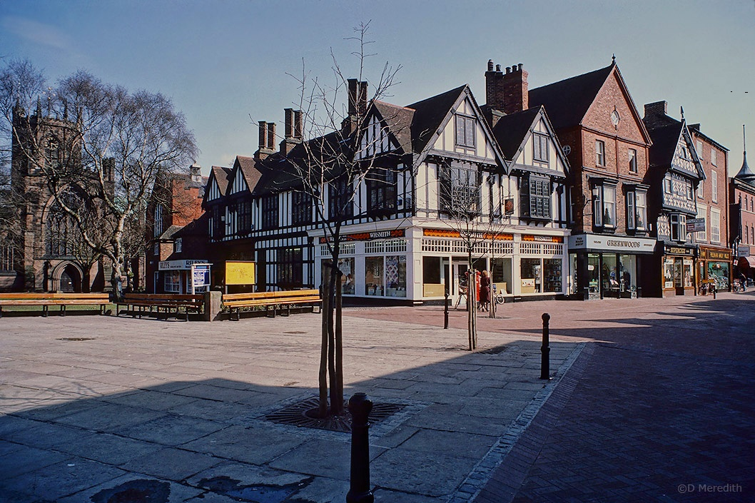 Travel Tuesday: Nantwich town square