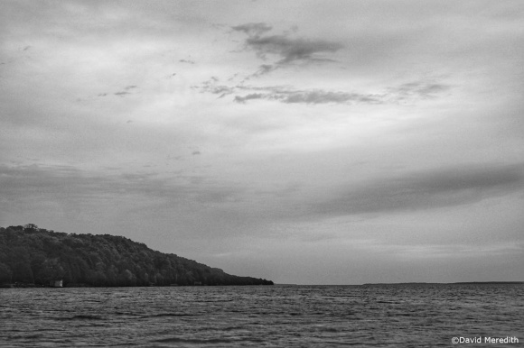 Monochrome Monday: Cloud at Sunrise