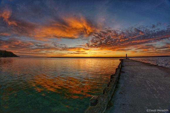 2020: Sunrise with a fisheye lens