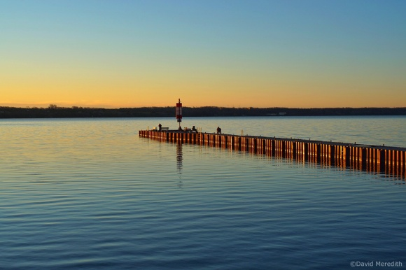 Six Word Saturday: Golden Light on the Government Dock