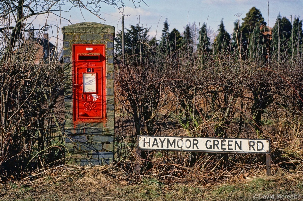 Travel Tuesday: Haymoor Green Rd