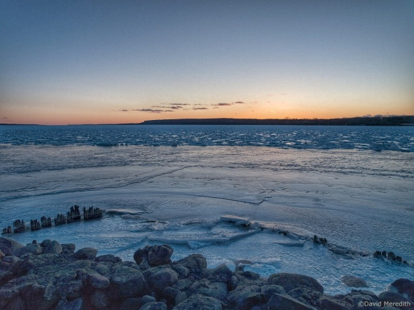 Travel Tuesday: Blue Hour Ice