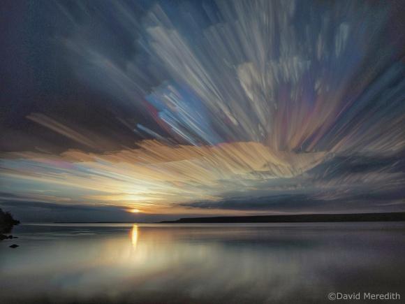 Six Word Saturday: Streaking Across the Sky at Sunrise