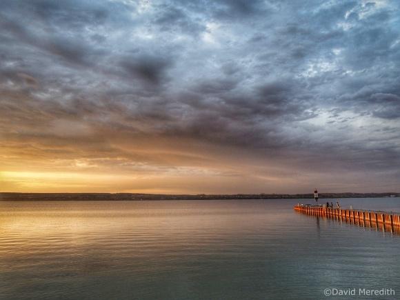 2021: Golden Light on the Government Dock