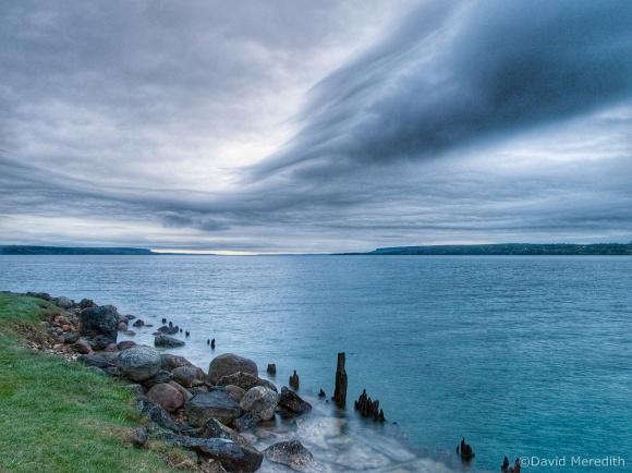 Throwback Thursday: Interesting Cloud at Sunrise