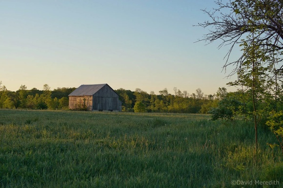 Six Word Saturday: Old Barn in the Golden Hour