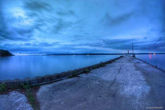 2021: The Government Dock in the blue hour