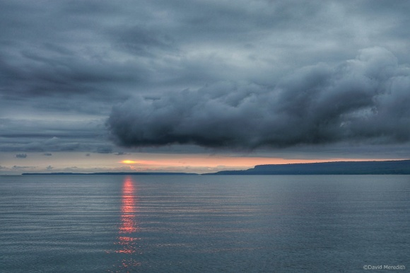 Travel Tuesday: Storm Clouds at Sunrise