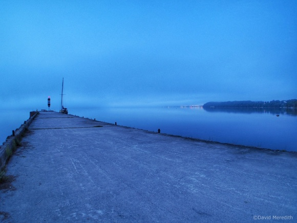 Weekly Prompts: Blue Hour Government Dock