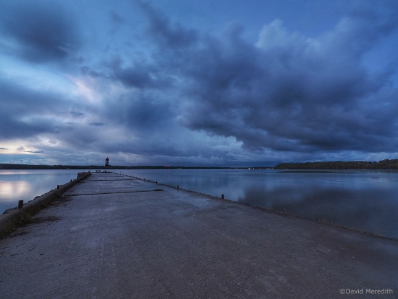 Six Word Saturday: Storm Clouds Moving Over the Bay
