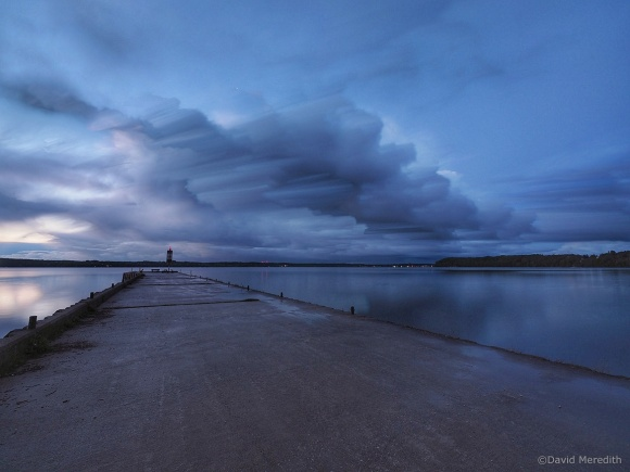 Six Word Saturday: Storm Clouds Passing the Government Dock