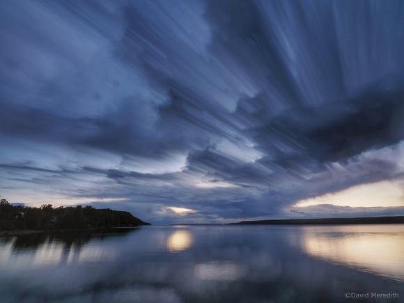 2021: Streaking Storm Clouds