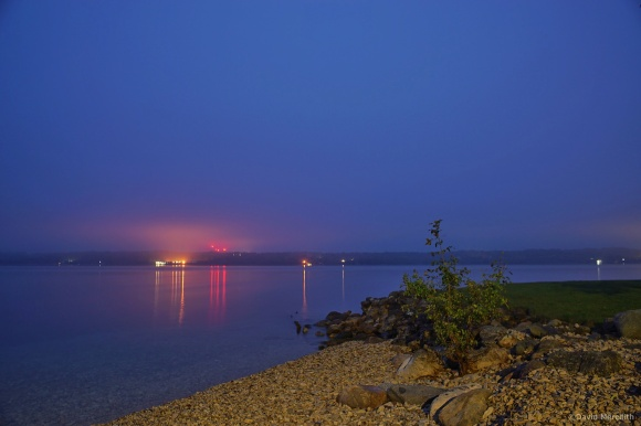 Getting Back to Basics: Mist Over the Bay at Dawn